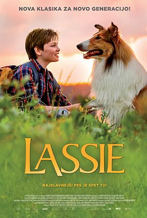 lassie plakat kino vrhnika